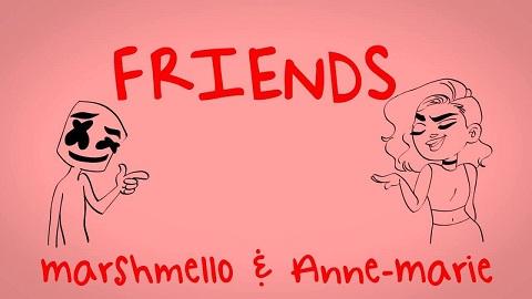 Klingeltöne Friends - Marshmello, Anne-Marie